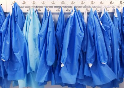 Covid gowns